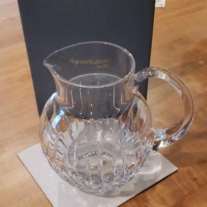 Crystal round pitcher